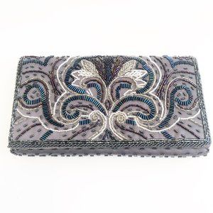 Vintage Beaded Clutch Party Purse